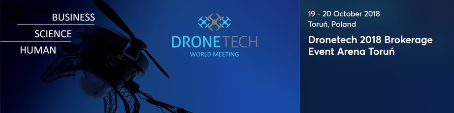 DRONETECH 2018 - World Meeting